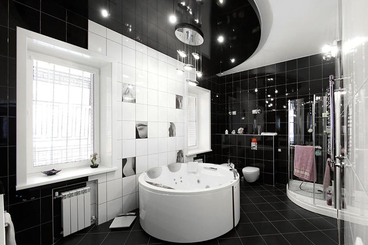Дизайн баня с джакузи