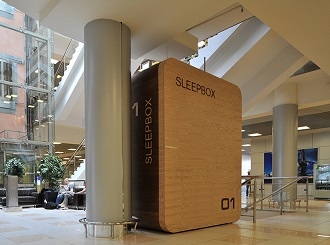 Дизайн отеля. Sleepbox в Москве
