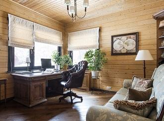 Дизайн интерьера кабинета в квартире