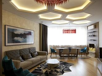 Дизайн освещения потолков. Потолки с подсветкой.