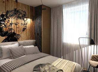 Дизайн интерьера маленьких спален