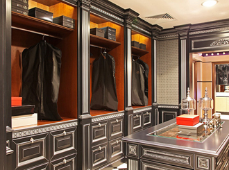 10 гардеробных комнат