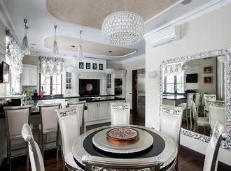 Кухни в стиле ар-деко