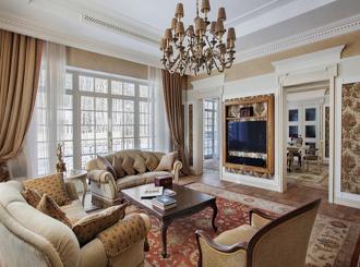 20 классических гостиных