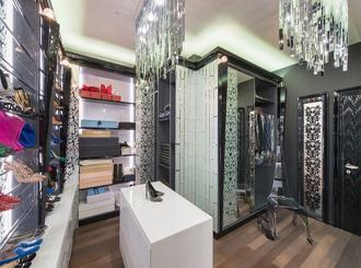 Фото оформления гардеробной комнаты