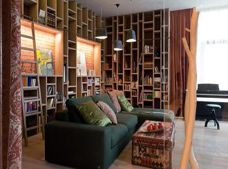 Фото оформления стеллажей в библиотеке
