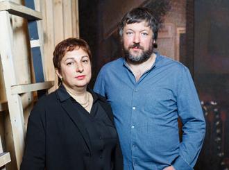 <p class=author>Дмитрий Грецкий и Евгения Кац.</p> Living Space.