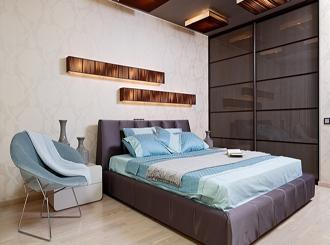 Дизайн интерьера молодёжной спальни
