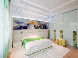Фото дизайна освещения в спальне