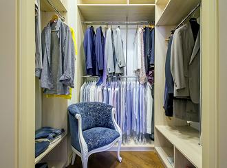 Фото гардеробной комнаты в квартире