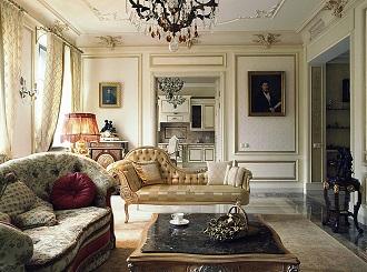 Интерьеры в дворцовом стиле
