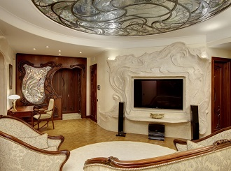 Дизайн интерьеров в стиле модерн