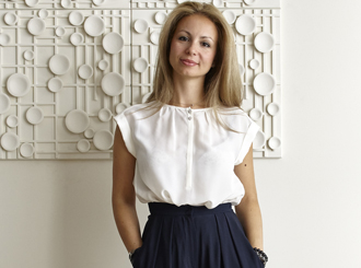 <p class=author>Александра Фёдорова.</p> Белый цвет палитры