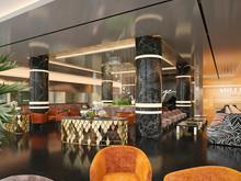 Отель «Отель Мираж», отели  . Фото № 27175, автор Duplex Apartment  Интерьерные решения