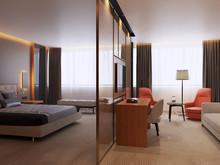 Отель «Дизайн отеля, номер Люкс. Duplex Apartment», отели  . Фото № 27215, автор Duplex Apartment  Интерьерные решения