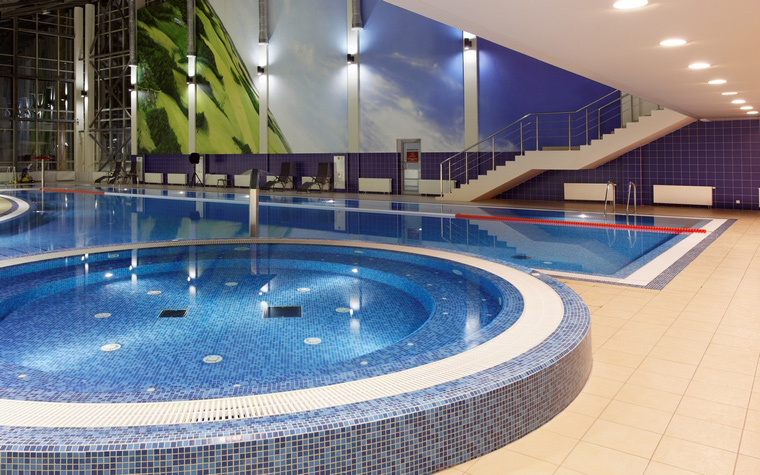 Спортивный комплекс, фитнес клуб. спортивные сооружения из проекта , фото №43817