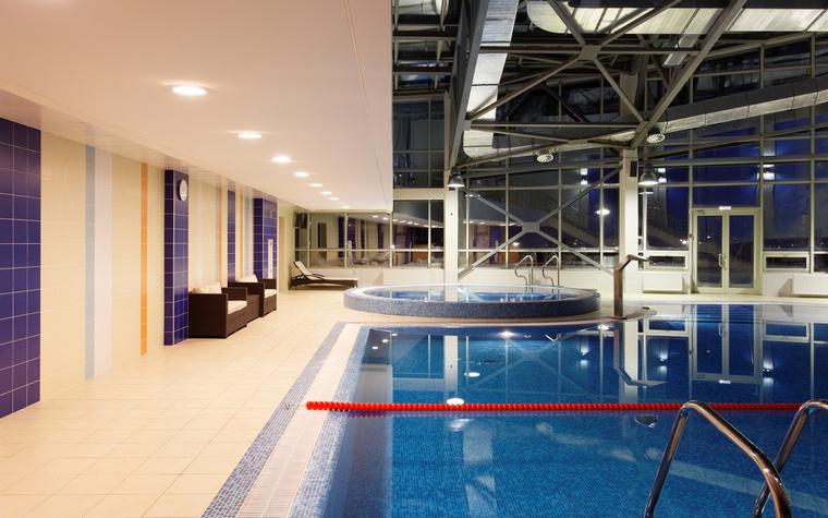 Спортивный комплекс, фитнес клуб. спортивные сооружения из проекта , фото №43834