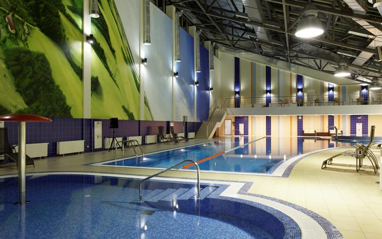 Спортивный комплекс, фитнес клуб. спортивные сооружения из проекта , фото №43819