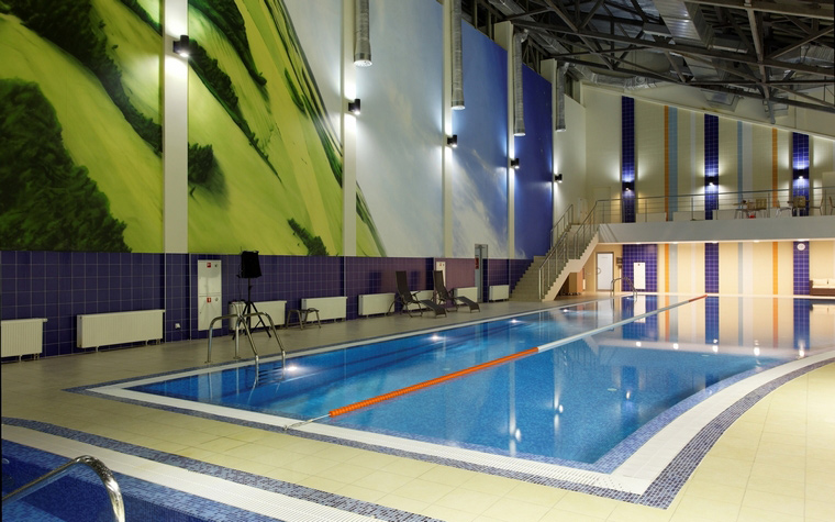 Спортивный комплекс, фитнес клуб. спортивные сооружения из проекта , фото №43820