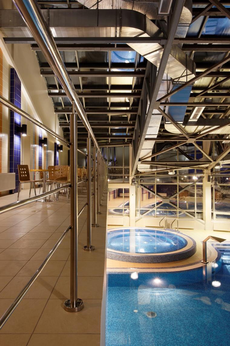 Спортивный комплекс, фитнес клуб. спортивные сооружения из проекта , фото №43821