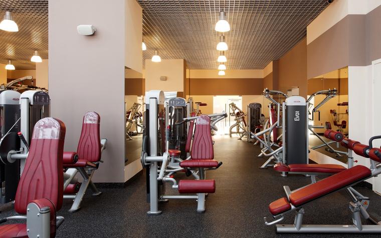 Спортивный комплекс, фитнес клуб. спортивные сооружения из проекта , фото №43822