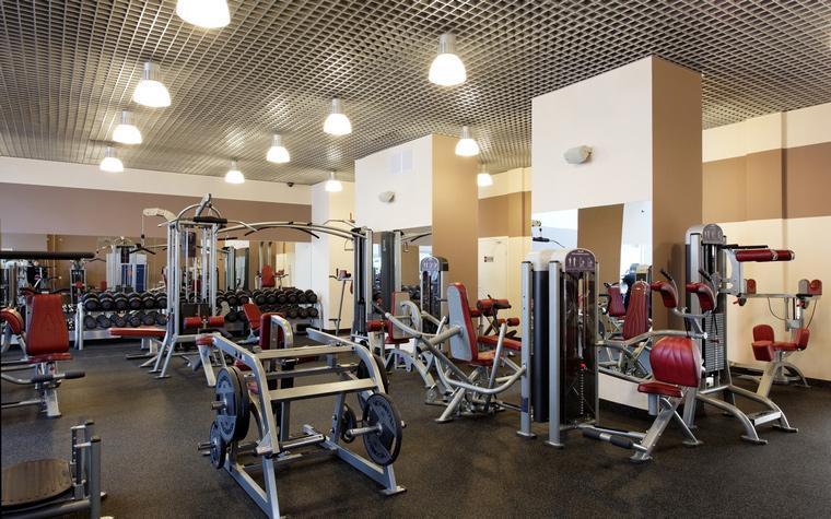 Спортивный комплекс, фитнес клуб. спортивные сооружения из проекта , фото №43823
