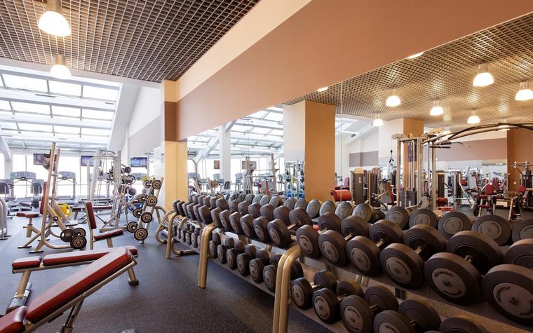 Спортивный комплекс, фитнес клуб. спортивные сооружения из проекта , фото №43824