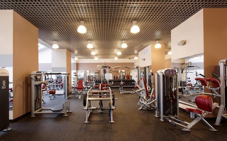 Спортивный комплекс, фитнес клуб. спортивные сооружения из проекта , фото №43825