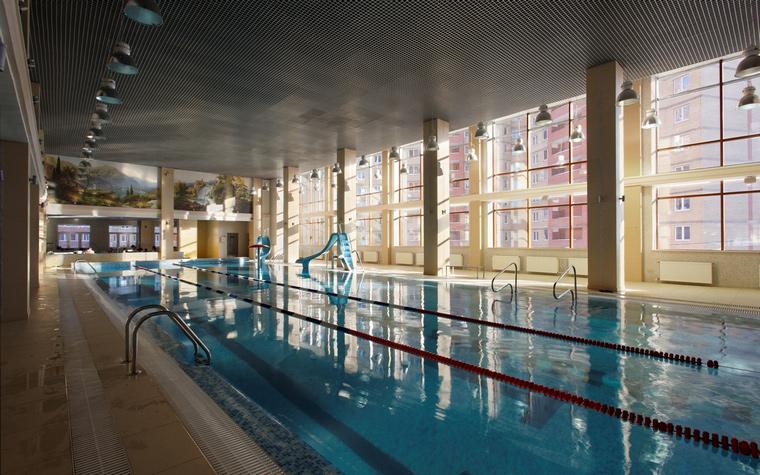 Спортивный комплекс, фитнес клуб. спортивные сооружения из проекта , фото №44259