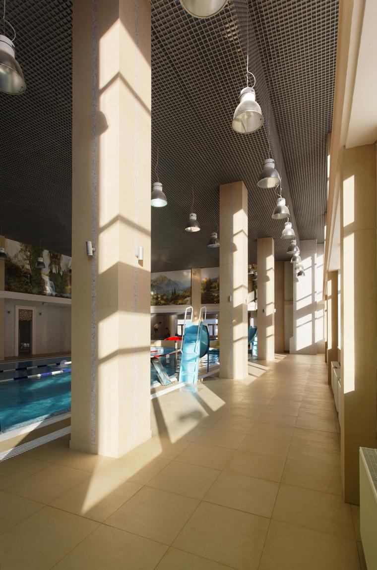 Спортивный комплекс, фитнес клуб. спортивные сооружения из проекта , фото №44261