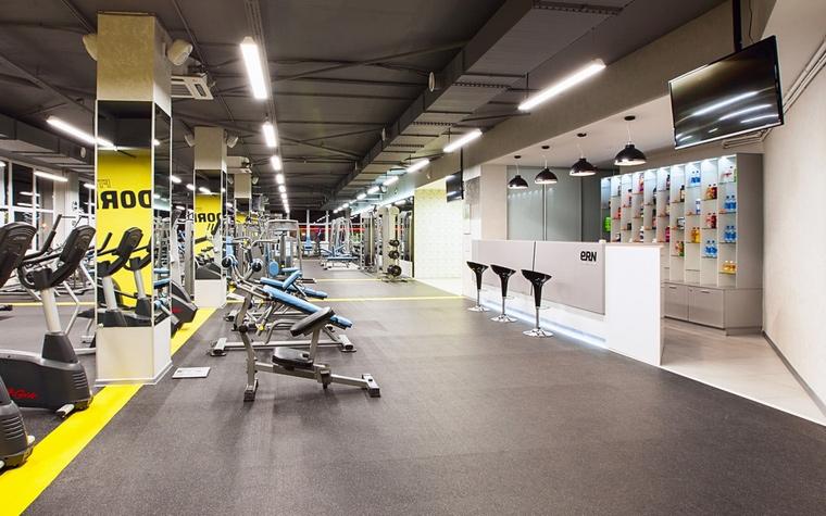 Спортивный комплекс, фитнес клуб. спортивные сооружения из проекта , фото №62413