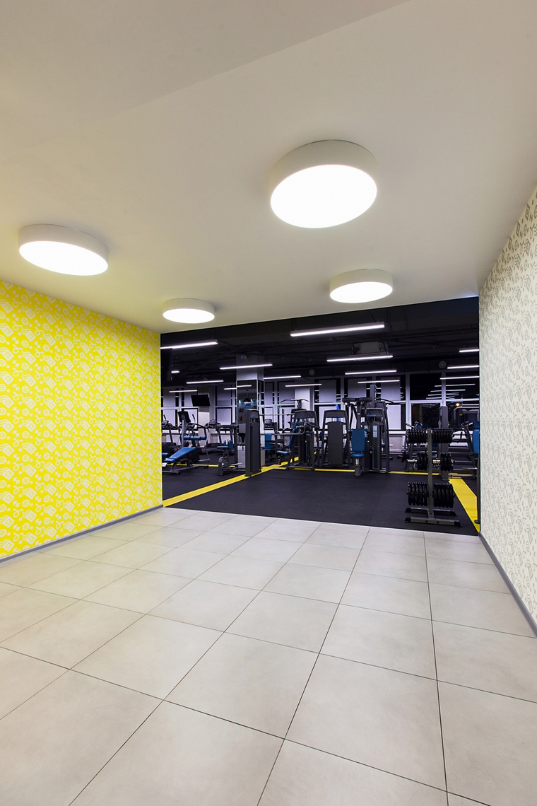 Спортивный комплекс, фитнес клуб. спортивные сооружения из проекта , фото №62410
