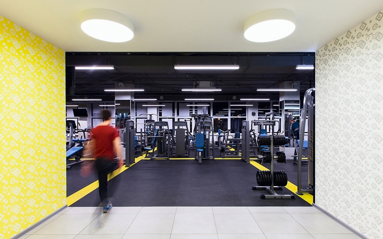 Спортивный комплекс, фитнес клуб. спортивные сооружения из проекта , фото №62411