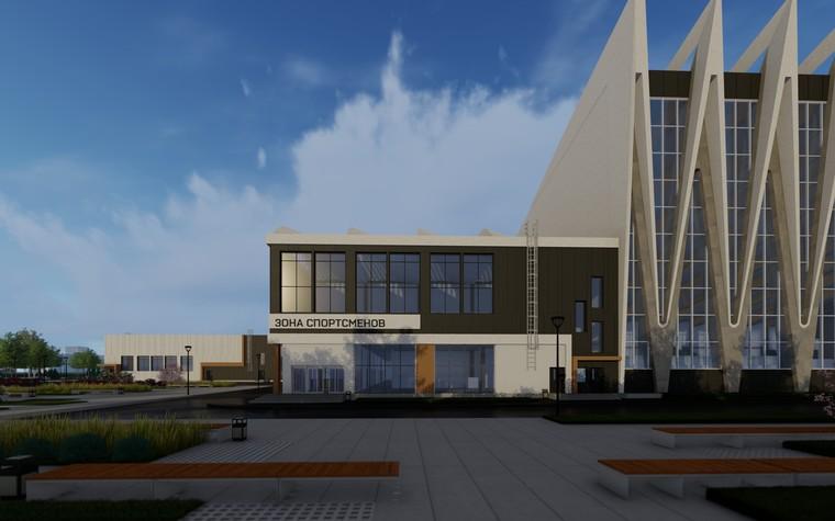 Спортивный комплекс, фитнес клуб. общественные здания  из проекта Комплекс водных видов спорта в г. Ярославле, фото №104289