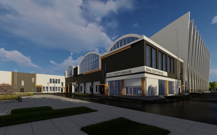 Спортивный комплекс, фитнес клуб. общественные здания  из проекта Комплекс водных видов спорта в г. Ярославле, фото №104291