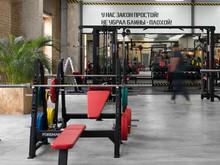 Спортивный комплекс, фитнес клуб «Фитнес клуб A-GYM Завод г. Клин», спортивные сооружения . Фото № 28281, автор Феськов Александр