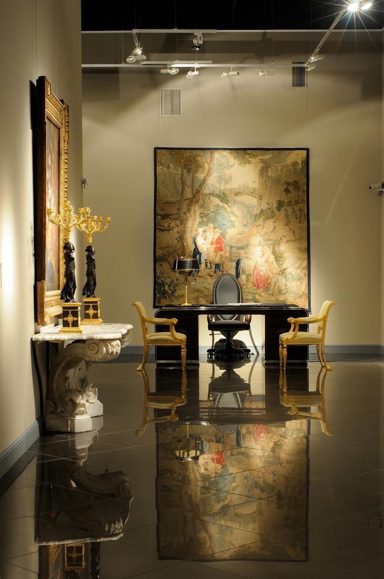 Выставочный зал. выставочные залы  из проекта , фото №39634