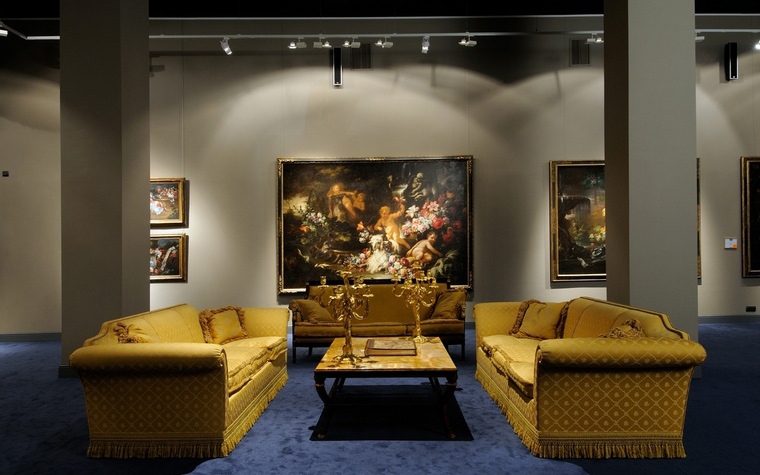 Выставочный зал. выставочные залы  из проекта , фото №39636