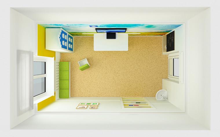 Учебные заведения. учебные заведения  из проекта Интерьер учебных комнат в детской больнице, фото №77555