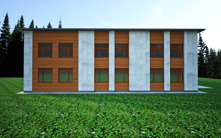 Учебные заведения. учебные заведения  из проекта Проект реконструкции корпусов студенческого общежития, фото №92228
