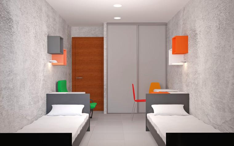 Учебные заведения. учебные заведения  из проекта Проект реконструкции корпусов студенческого общежития, фото №92230