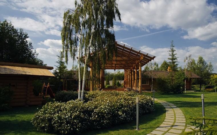 Баня, сауна, бассейн. баня сауна из проекта , фото №11223