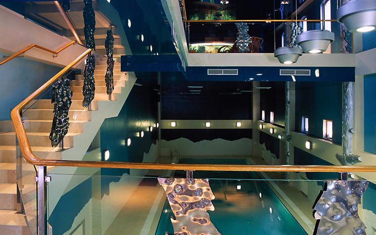 Баня, сауна, бассейн. бассейн из проекта , фото №12482