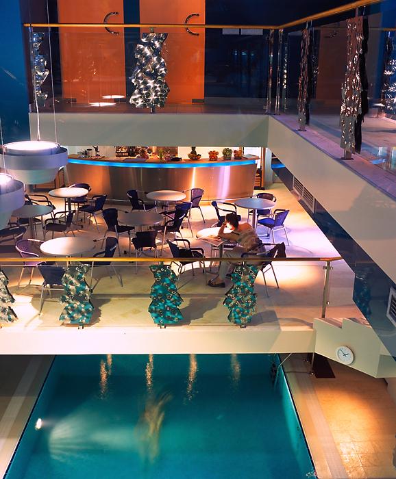 Баня, сауна, бассейн. бассейн из проекта , фото №12478