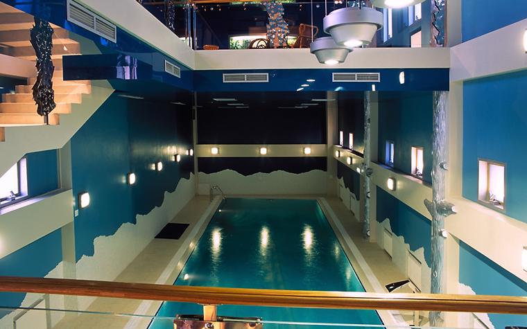 Баня, сауна, бассейн. бассейн из проекта , фото №12481