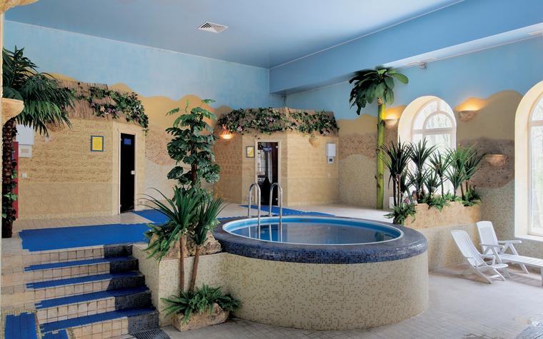 Баня, сауна, бассейн. бассейн из проекта , фото №13197