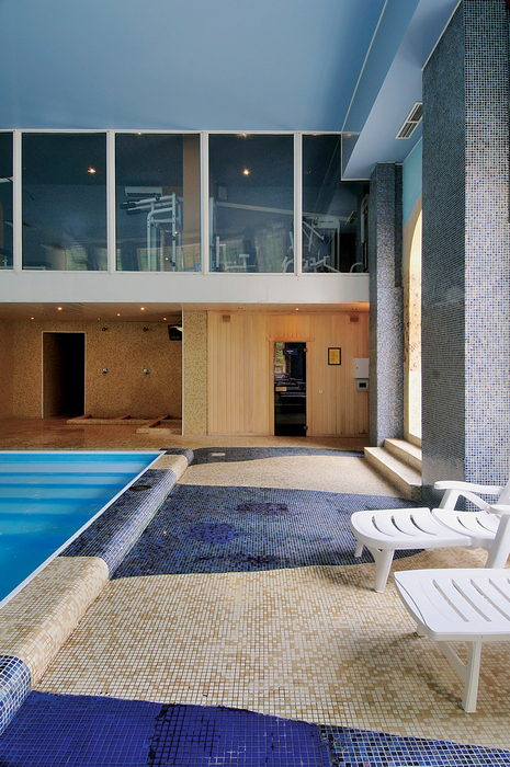 Баня, сауна, бассейн. бассейн из проекта , фото №13199