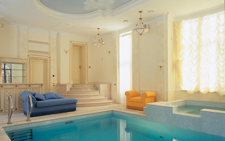Баня, сауна, бассейн. бассейн из проекта , фото №13201