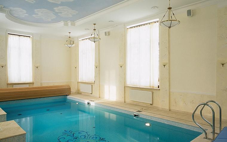 Баня, сауна, бассейн. бассейн из проекта , фото №13203