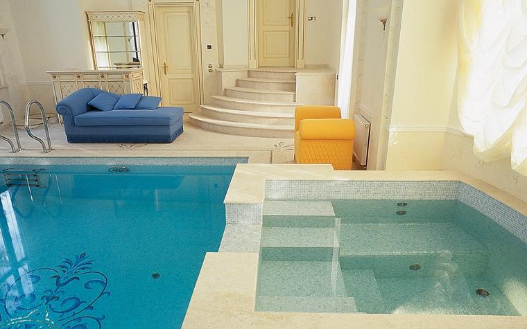 Баня, сауна, бассейн. бассейн из проекта , фото №13204